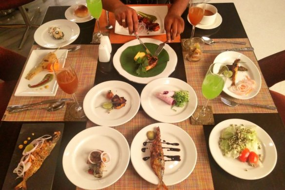 Sea Food Festival At Vivanta By Taj