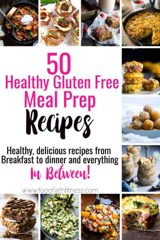 50 Healthy Meal Prep Ideas for The Week Food Faith Fitness