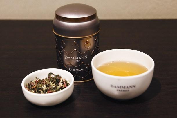 tè Dammann Frères per il Natale - abbinamenti