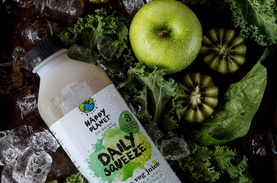 Daily Squeeze by Happy Planet