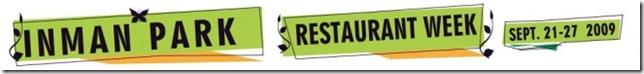 Inman Park Restaurant Week Logo