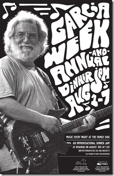 rosebud jerry garcia week