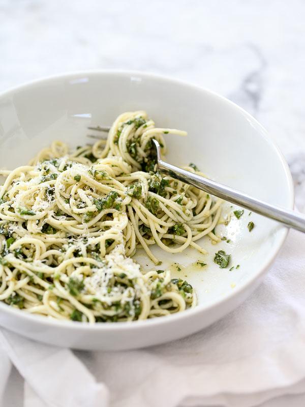 Pesto Pasta Recipe - Foodiecrush