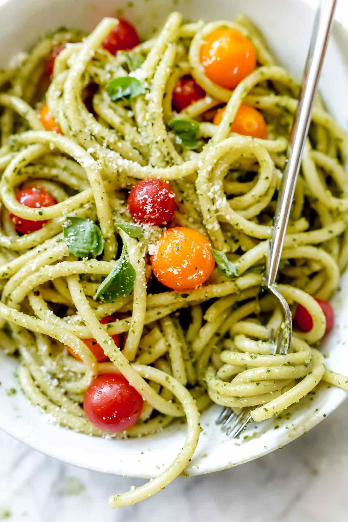 Pasta Recipes Auto Electrical Wiring Diagram Bmw Spaghetti Easy Homemade Pesto Recipe