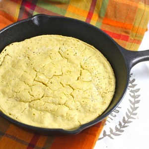 "Low Carb Skillet ""Corn""bread"