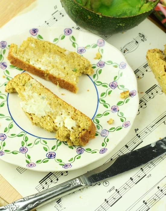 Avocado Pound Cake (Vegan/Gluten Free/Low Calorie)
