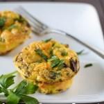 Sausage & Mushroom Egg Muffins