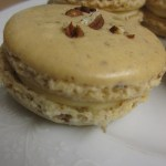 Marooned with Macarons (Pecan Pie Macarons with Maple Syrup Filling)