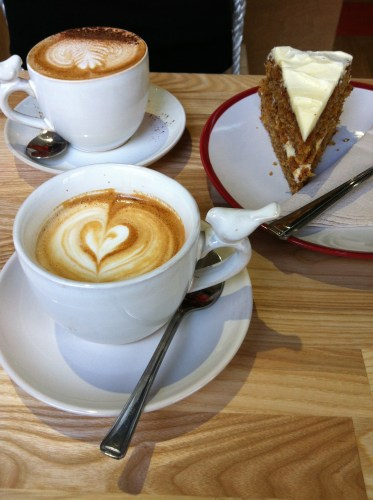 Coffee and Cake at Playground Coffee House, Bristol