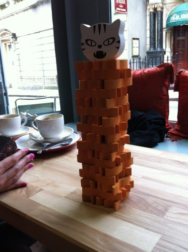 Games at Playground Coffee House, Bristol