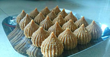 Churma Modak Recipe. New Invented Recipe. Indian Sweet Recipe. Indian Dessert Recipe.