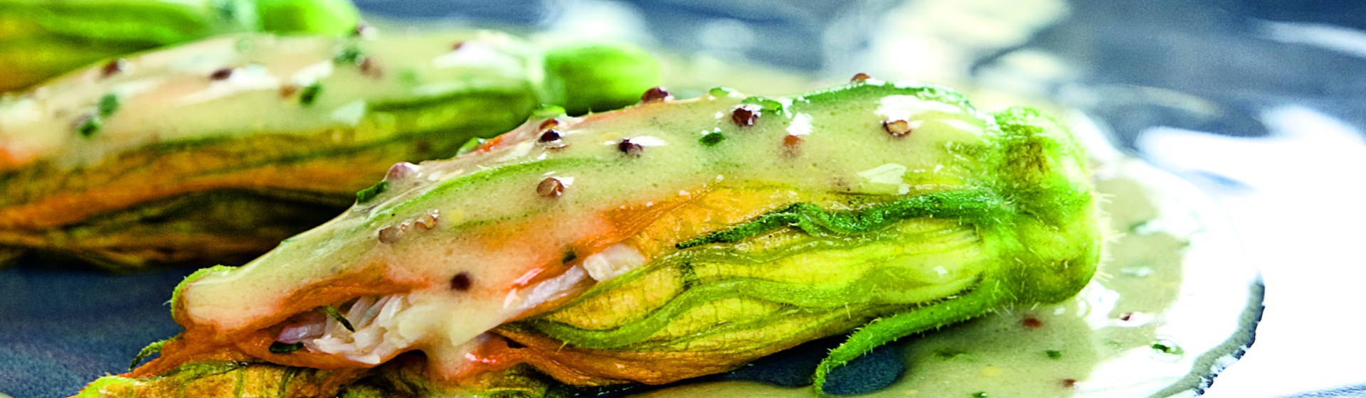 Crab-Stuffed Zucchini Flowers Recipe - Food Republic
