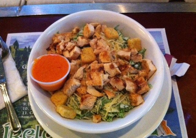 Chick Caesar Salad