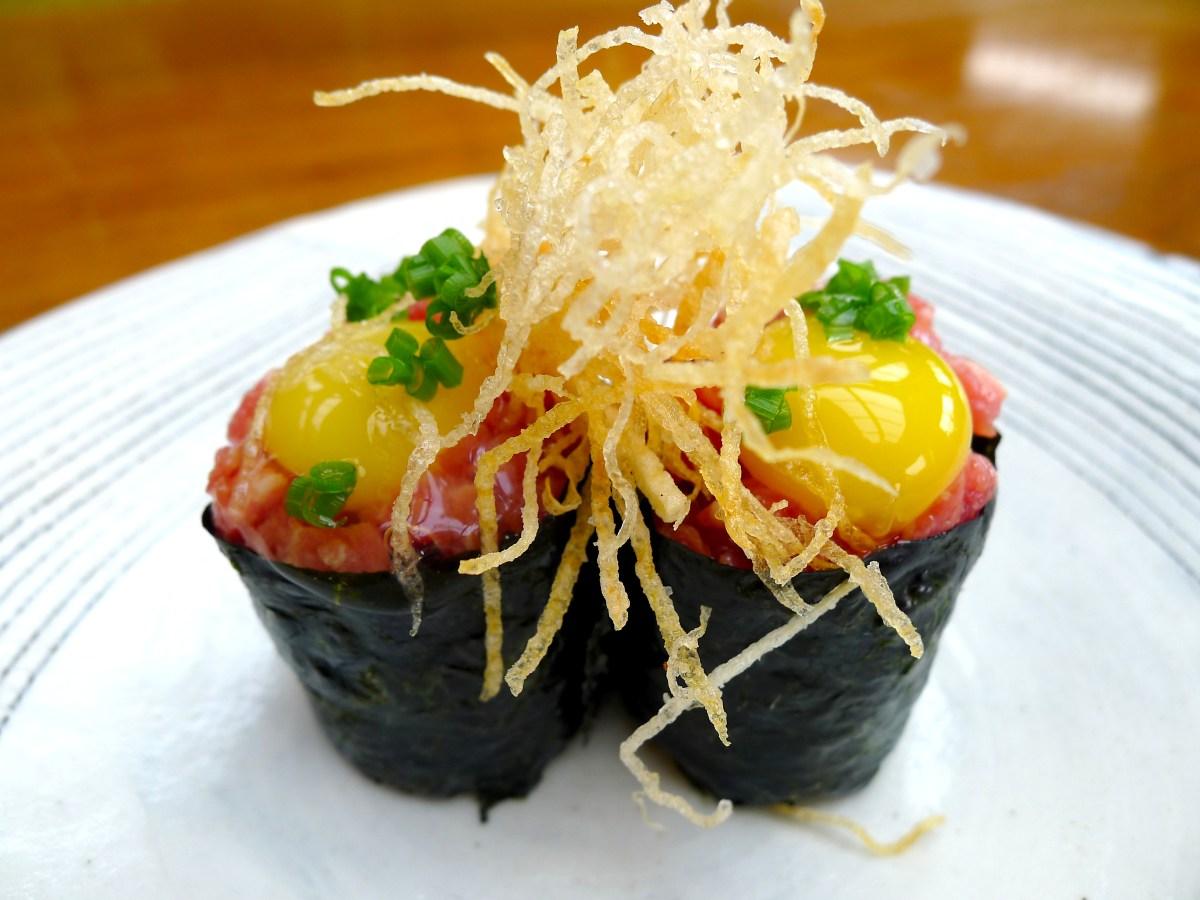 Wagyu Gunkan Sushi Recipe | Food Republic