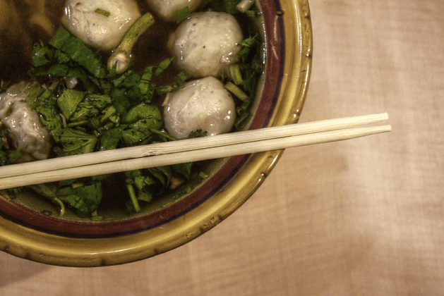 Cantonese Spiced Pork Meatball Soup