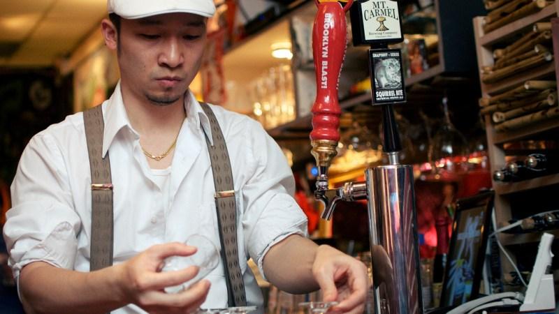 AmerAsia bartender