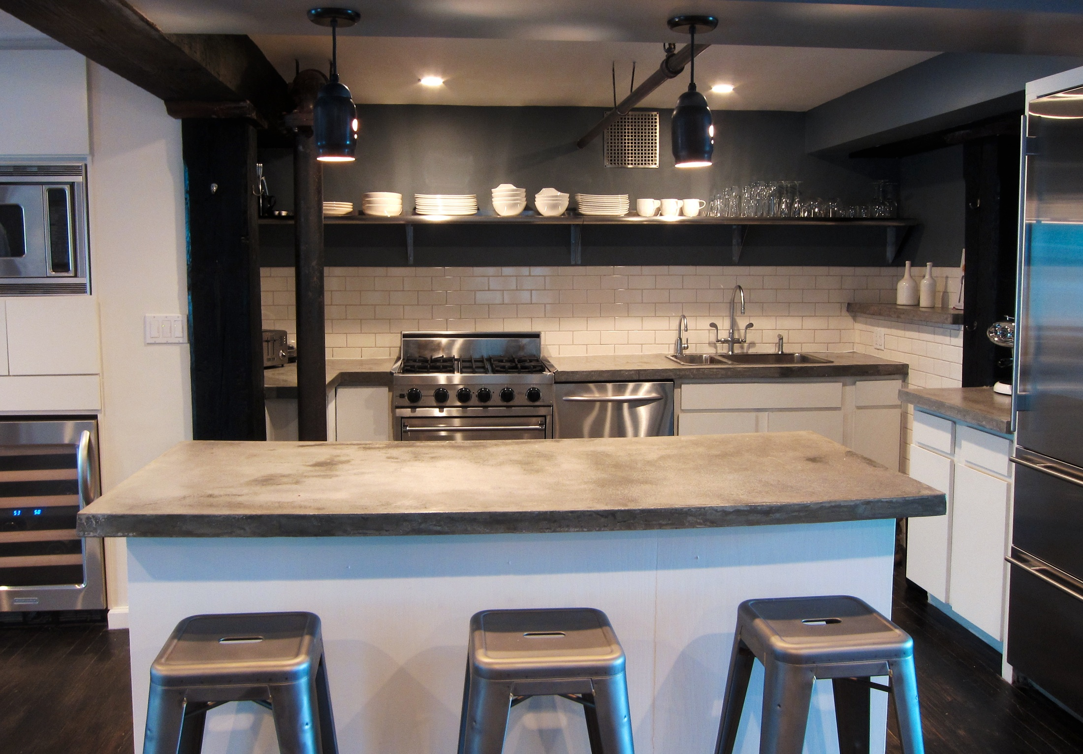 A NYC Kitchen Recently Completed By Reed Woodsonu0027s Firm, Beedus U0026 Jardin.