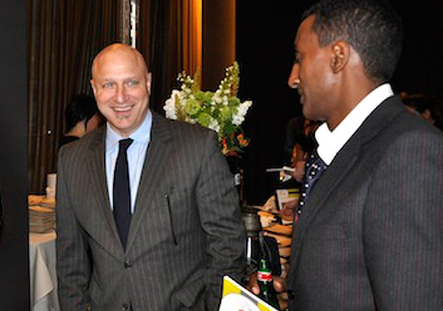 Tom Colicchio and Marcus Samulesson
