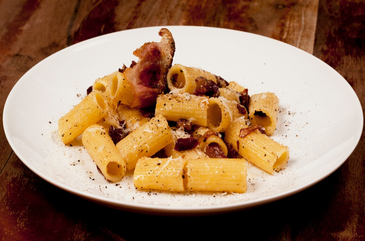 Roman-Style Rigatoni Alla Gricia Recipe | Food Republic