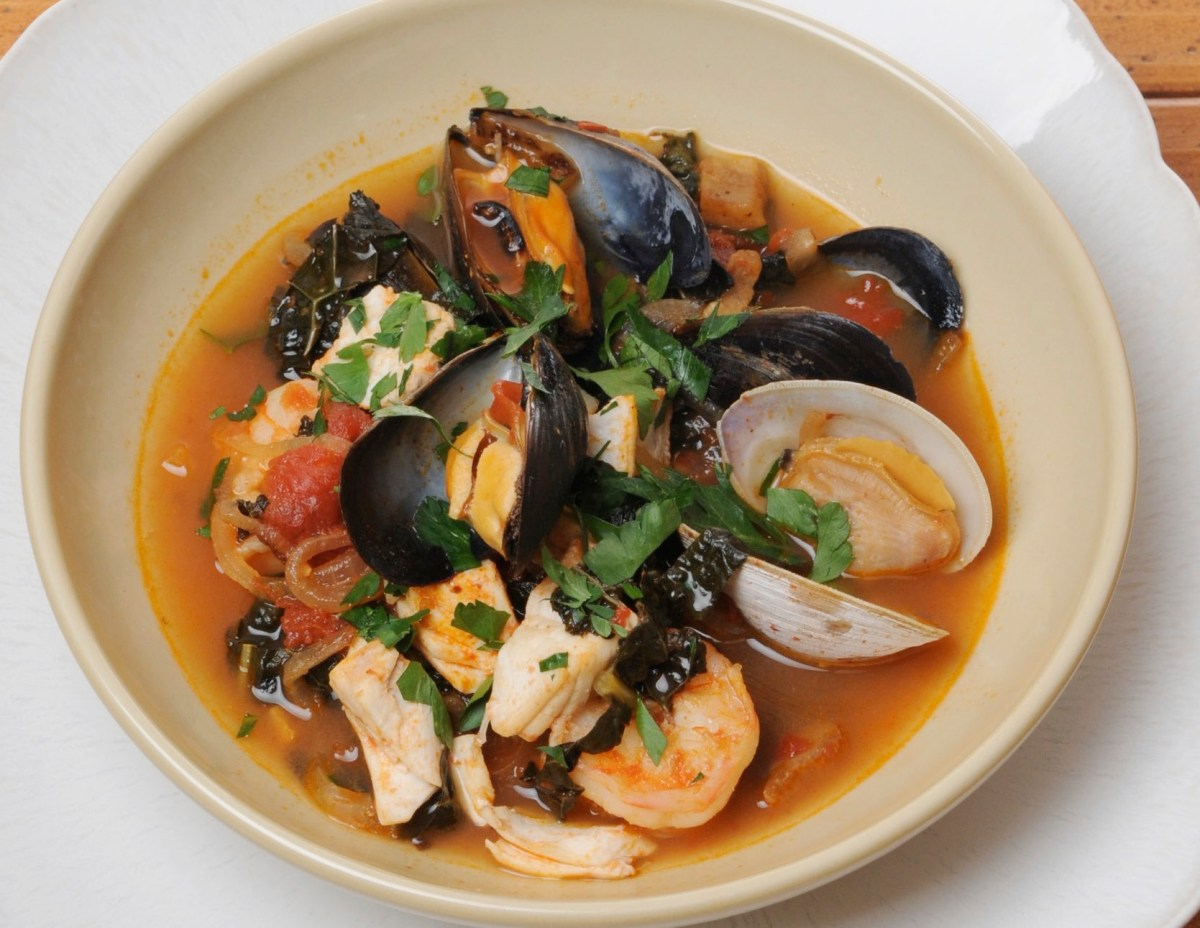 Spring Shellfish Stew Recipe | Food Republic