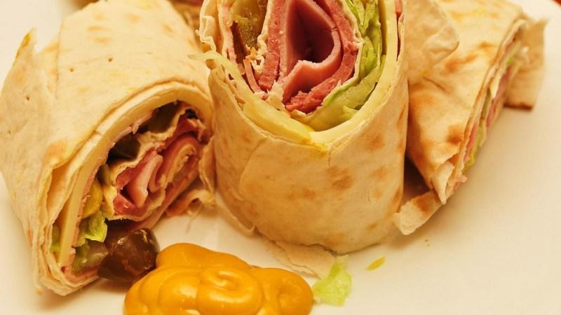 lavash sandwich