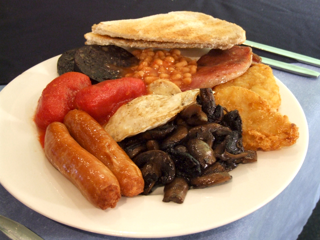 Full English Breakfast Recipe Food Republic