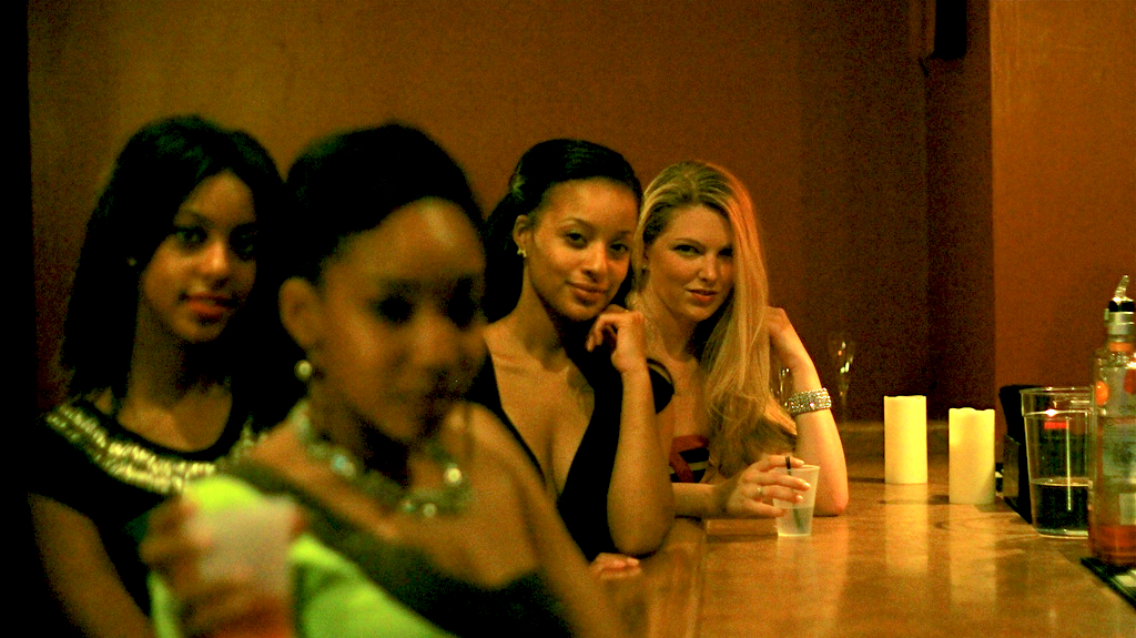 Picking up women in bars