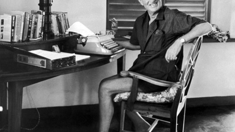 Ian Fleming wrote all 14 Bond novels at this desk in his villa in Jamaica.