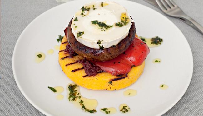 polenta stacks recipe