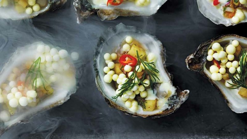 Plate Deconstruction: Richard Blais' Oysters and Horseradish Pearls