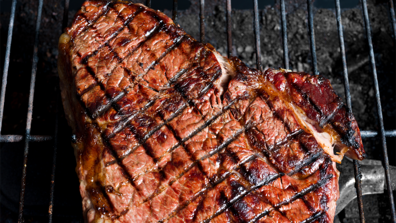 how to make grill marks on steak