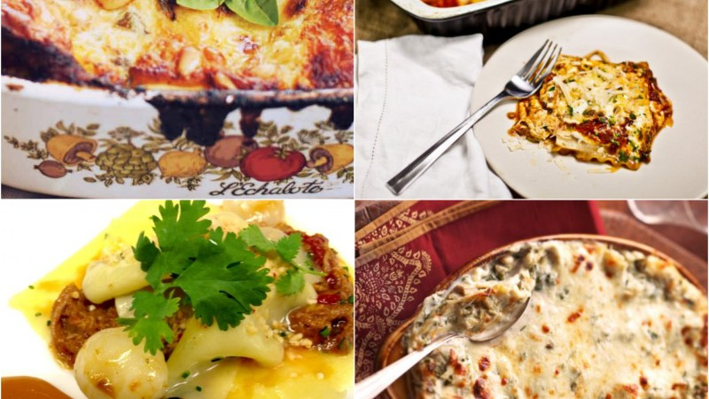 4 Ideas For Dinner Tonight: Lasagna