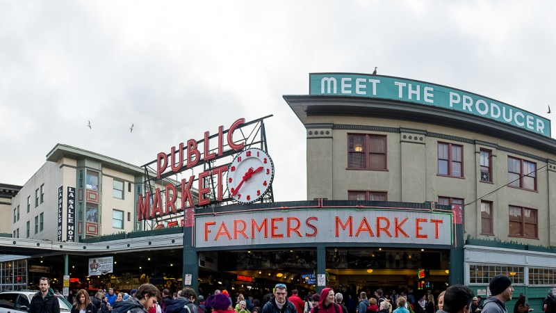 Epic Market Time, Pike Place Edition: 10 Photos From A Seattle Institution