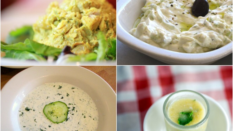 6 Ideas For Dinner Tonight: Yogurt