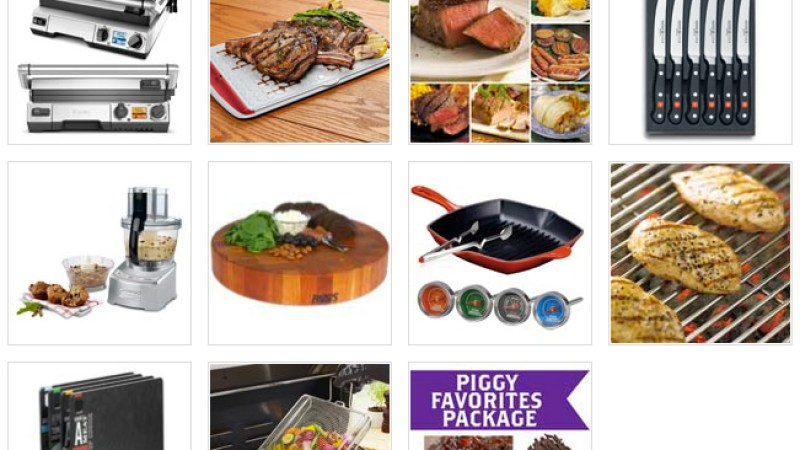We're halfway through The Great Grilling Month Giveaway!