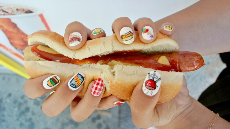 Fast Food Afternoon Romp: Check Out Jess' Picnic Nails!