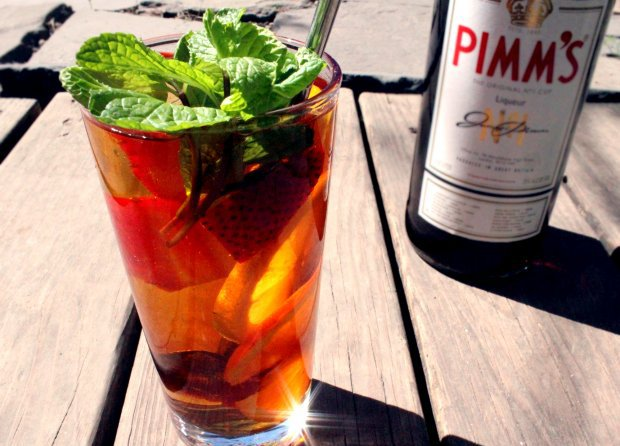 Drinking Pimm's on rare summer days has been tradition in England for centuries.