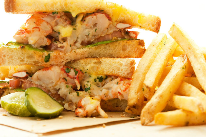 Lobster And Vanilla 'Club' Sandwich Recipe