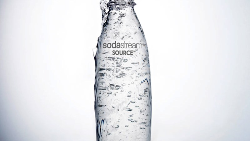 Yay For A Brand-New, Much More Attractive SodaStream Bottle!