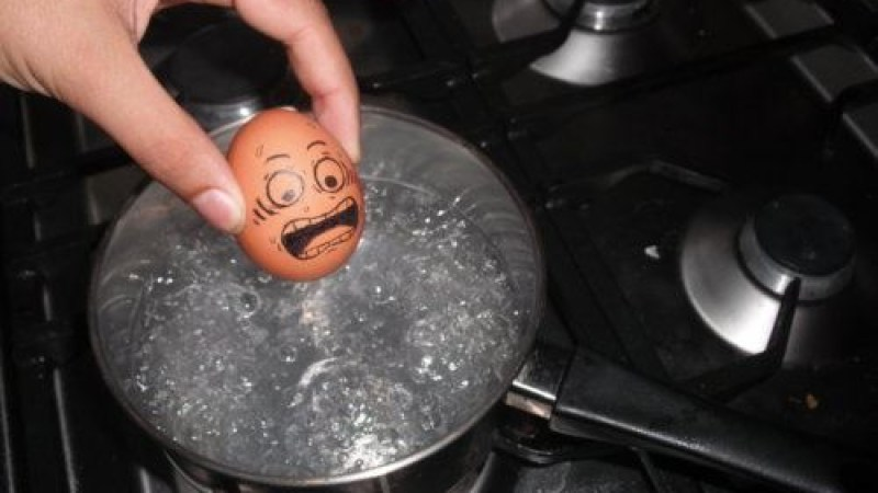 How Do You Peel Hard-Boiled Eggs?