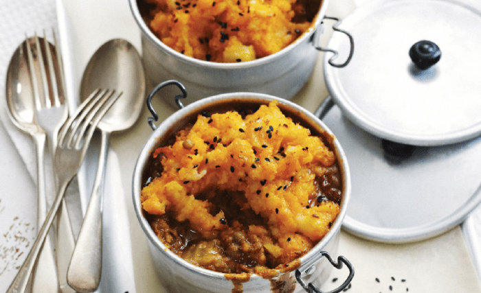 Curried Lentil Pies Recipe