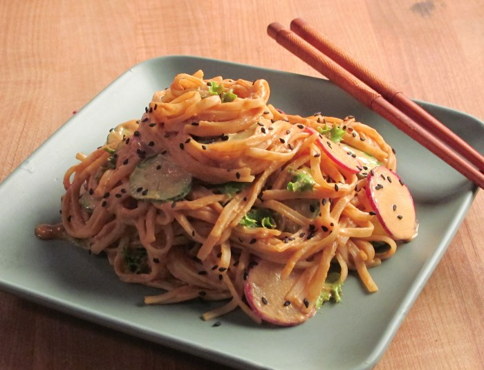Spicy Vegan Dragon Noodle Salad Recipe
