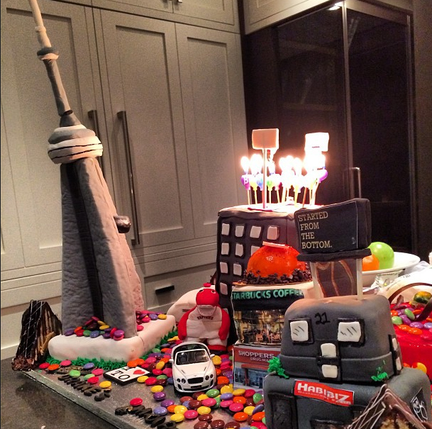 What Is Going On With Drakes Birthday Cake Food Republic