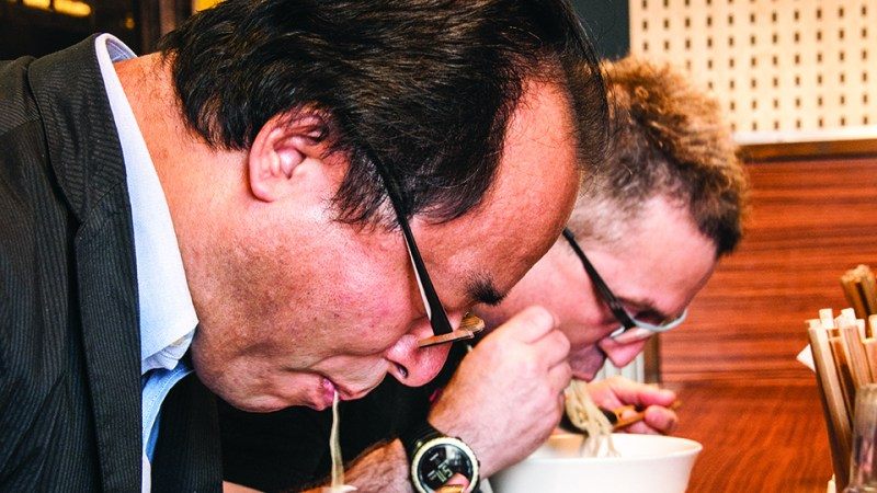 Ivan Orkin Faces Off With Toyko's Most Feared Ramen Critic, Ohsaki-san