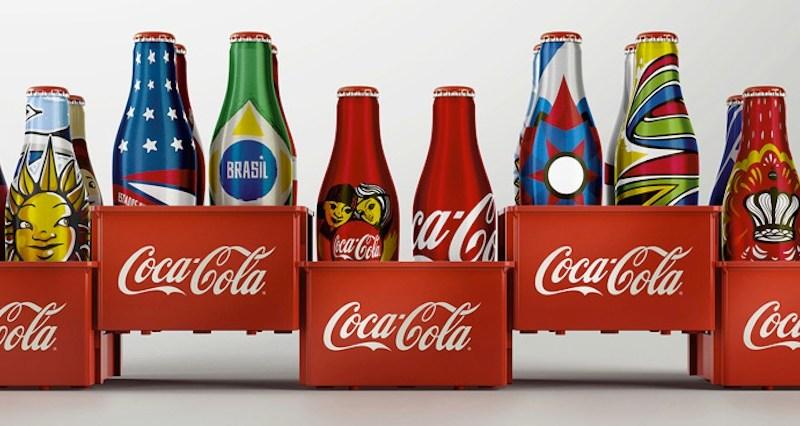 Coke World Cup bottles