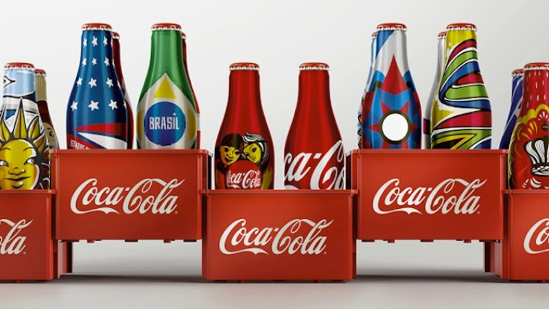 Coke World Cup bottles