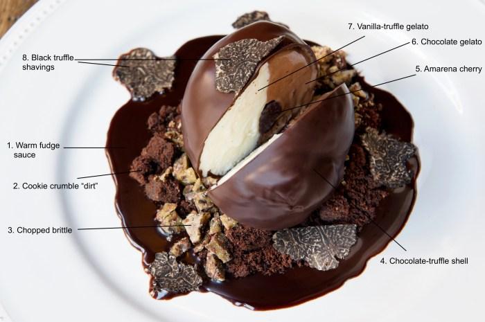 Tartufo Ice Cream Cake