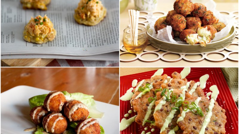 7 Ideas For Dinner: Fritters