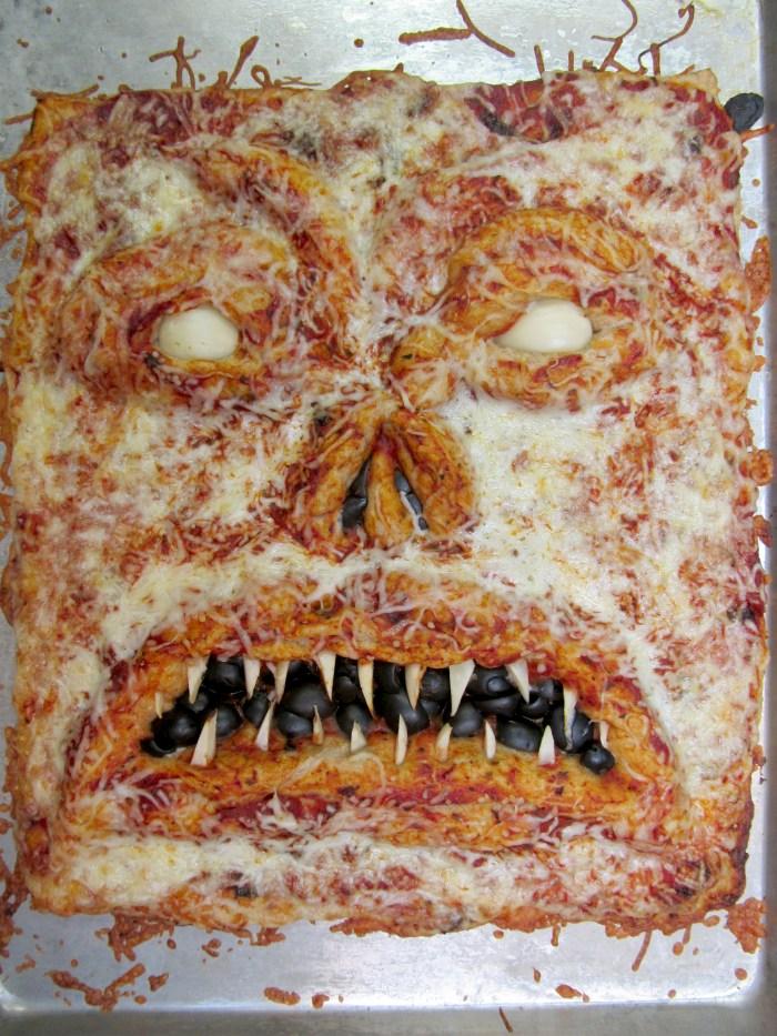 Evil Dead Marathon Necronomicon Pizza Monster Food