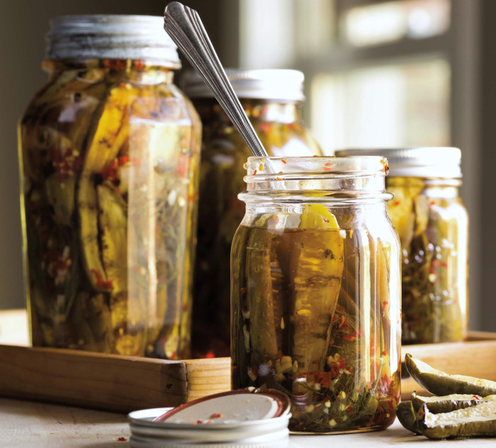 Grilled Sweet & Spicy Pickles Recipe